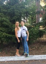 Алексей Бонковский и Карина Вильдман
