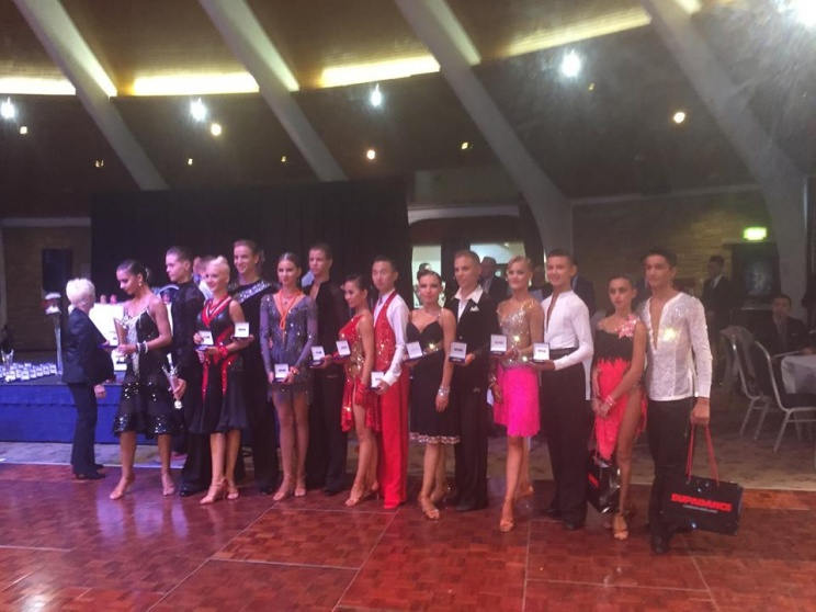 UK Open Ten Dance Championships 2015 Junior Latin