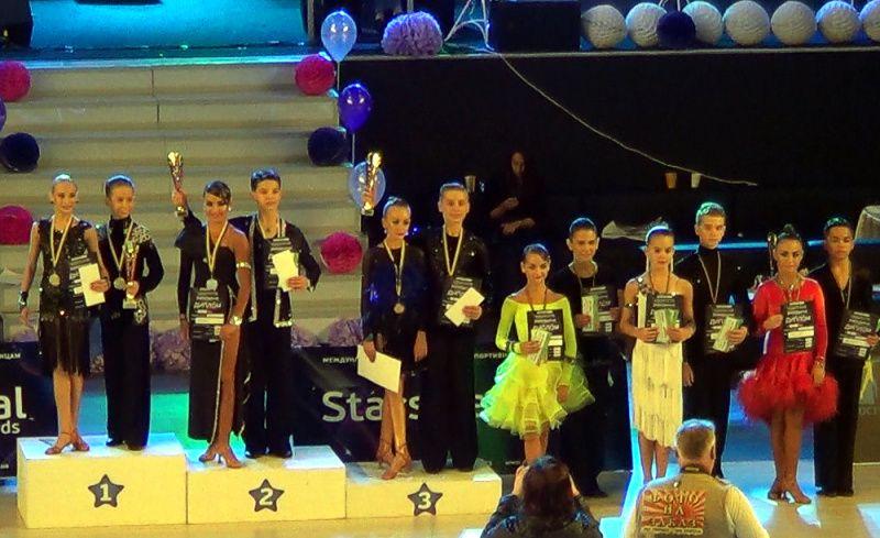 Stars Festival Awards 2015 Junior 1 Latina