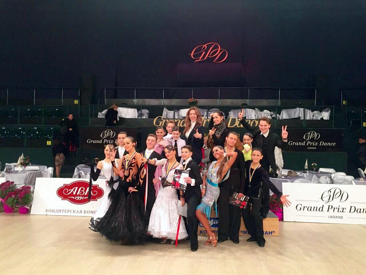 """Команда КСТ """"Шанс"""" на Grand Prix Dance 2015"""