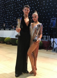 International Championships 2017 Bonkovskyy & Vursalova