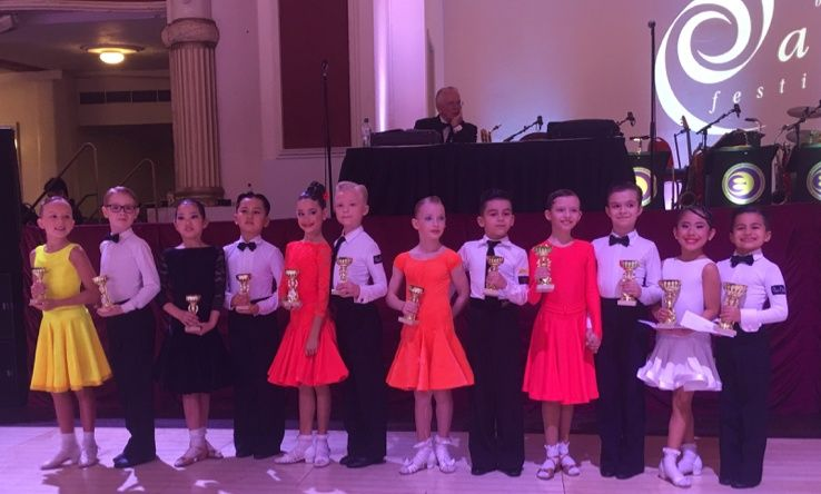 2016 Blackpool Junior Dance Festival – Juvenile I Jive
