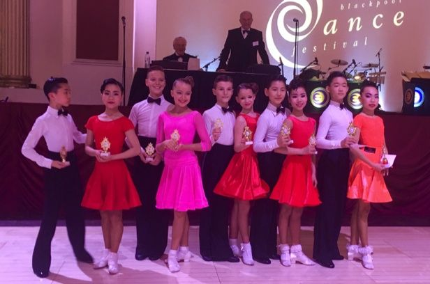 2016 Blackpool Junior Dance Festival – Juvenile Latin