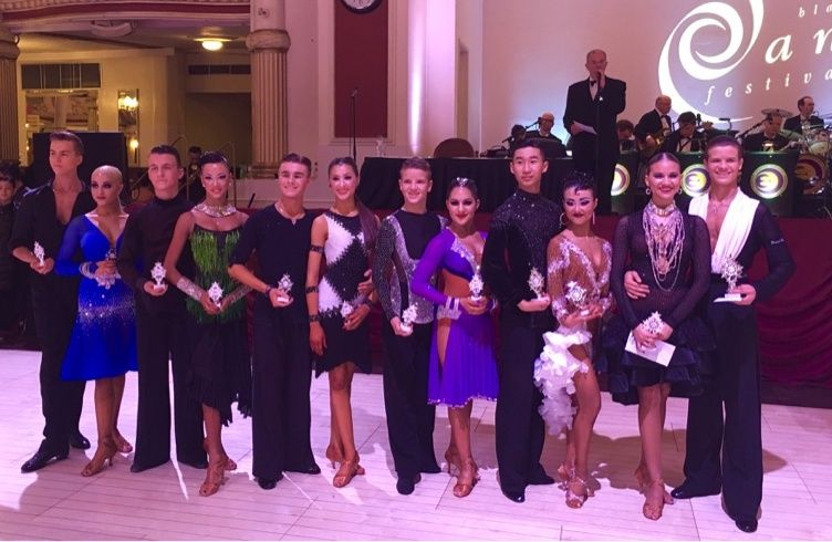 2016 Blackpool Junior Dance Festival – Junior Samba