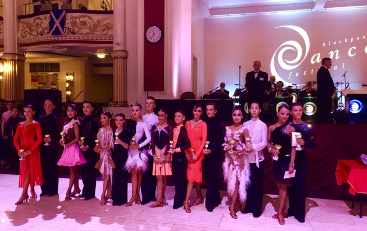 2016 Blackpool Junior Dance Festival – Junior U14 Latin
