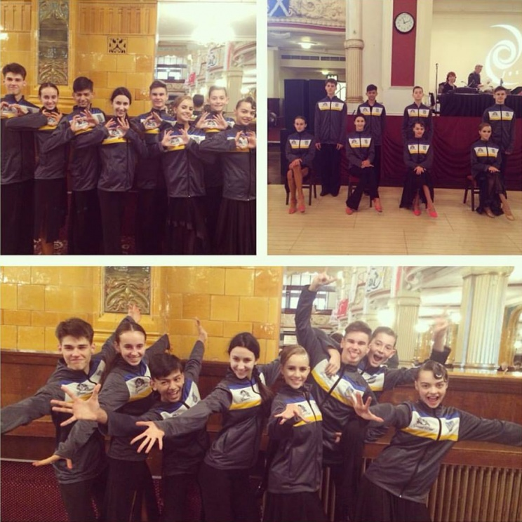2016 Blackpool Junior Dance Festival – Ukrainian Junior Team