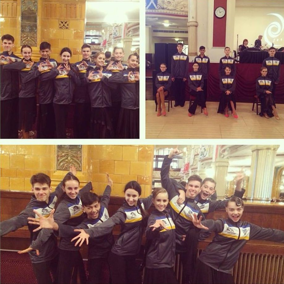 2016 Blackpool Junior Dance Festival – Ukrainian Junior Team