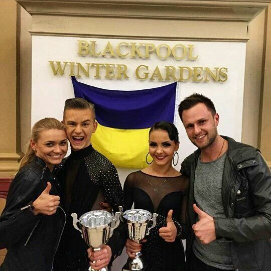 Dmitriy Lischuk & Anastasiya Osadchuk Vice-Champion Junior (U16) 2016 WDC AL European Championship