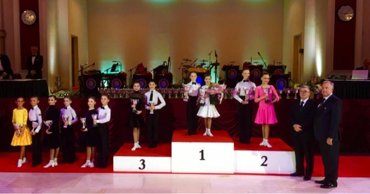 2016 WDC AL European Championship Juvenile Latin