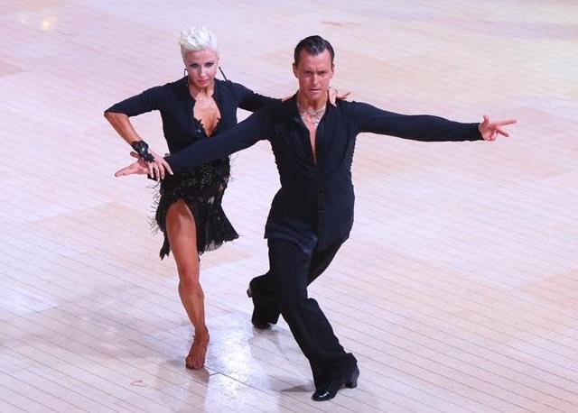 Blackpool Dance Festival 2016 - 3 place Professional RS Latin Dmytro Pankov & Olesya Pankova Ukraine