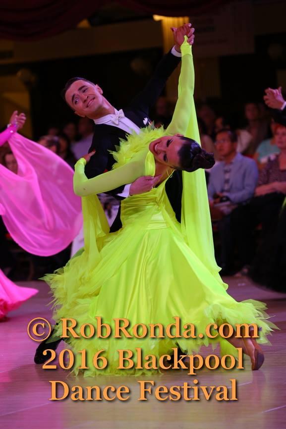 Blackpool Dance Festival 2016 Professional RS Ballroom