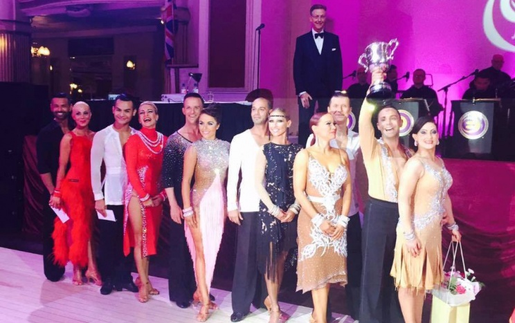 Blackpool Dance Festival 2016 Senior Latin