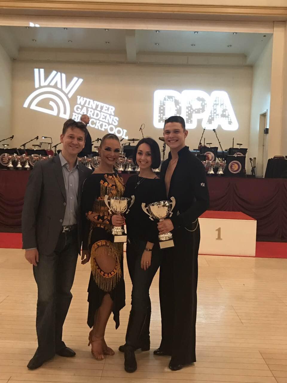 2017 WDC AL European Championship Youth1 | Roman Myrkin, Mariya Lukovets, Daniil Tymoshenko, Natalia Byednyagina