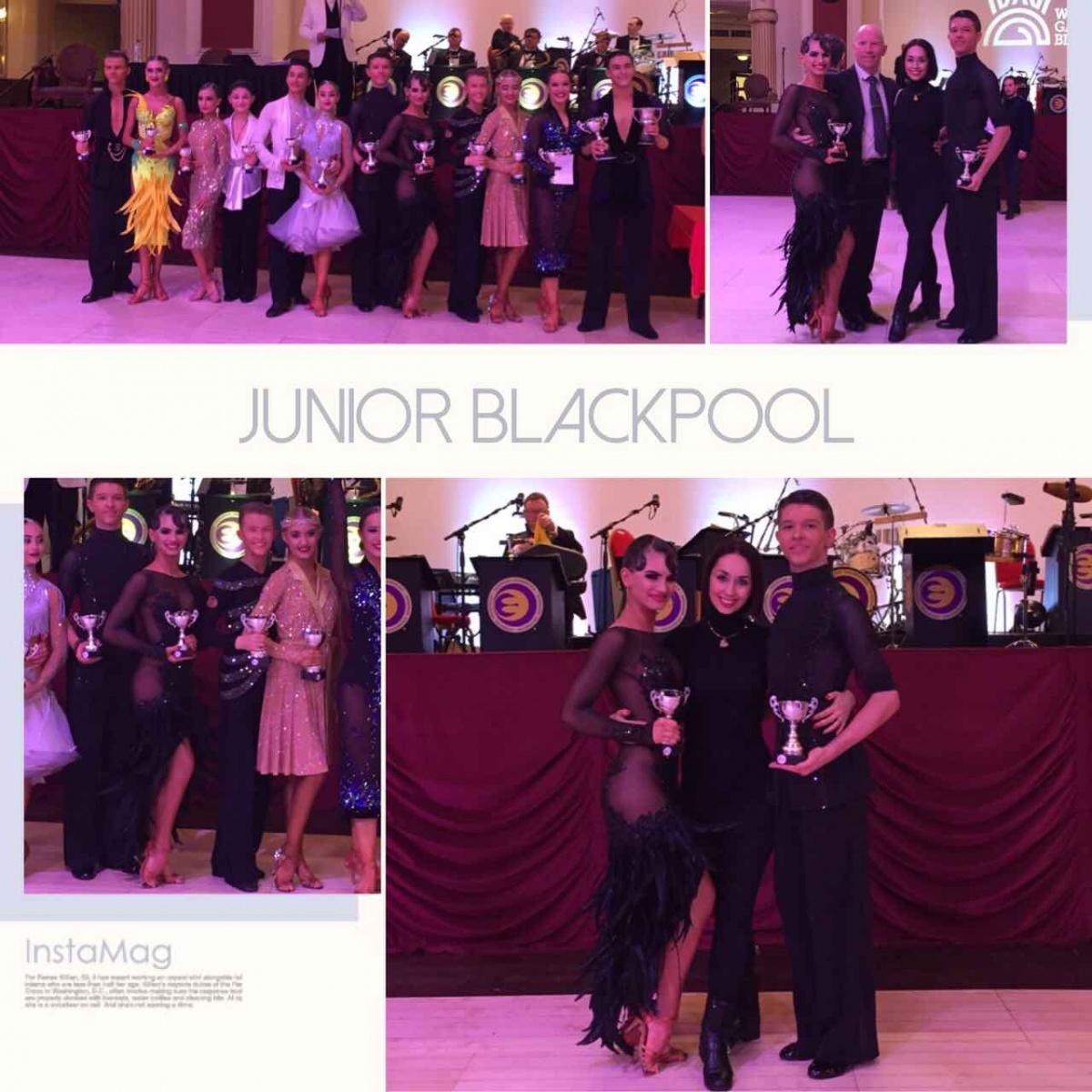 The Junior Blackpool Dance Festival 2017 British Junior Latin Championship