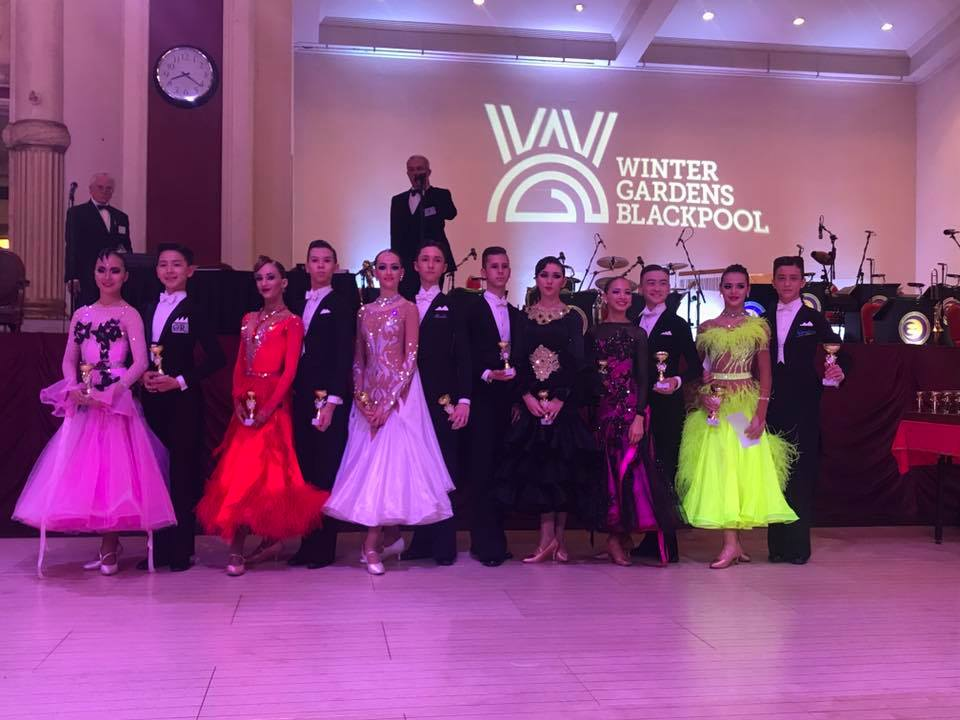 The Junior Blackpool Dance Festival 2017 U12-13 Ballroom