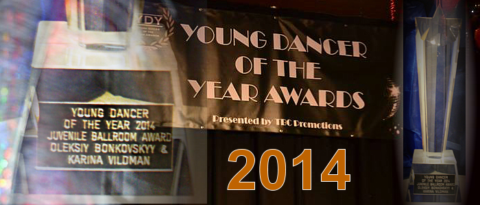 Young dancer of the Year 2014