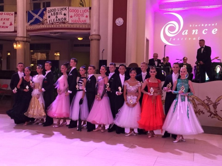 Финалисты Junior Blackpool Dance Festival 2015, Junior (U16) VWaltz