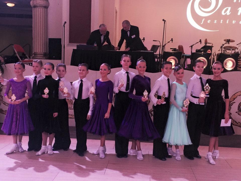 Финалисты Junior Blackpool Dance Festival 2015, Juvenile VWaltz.