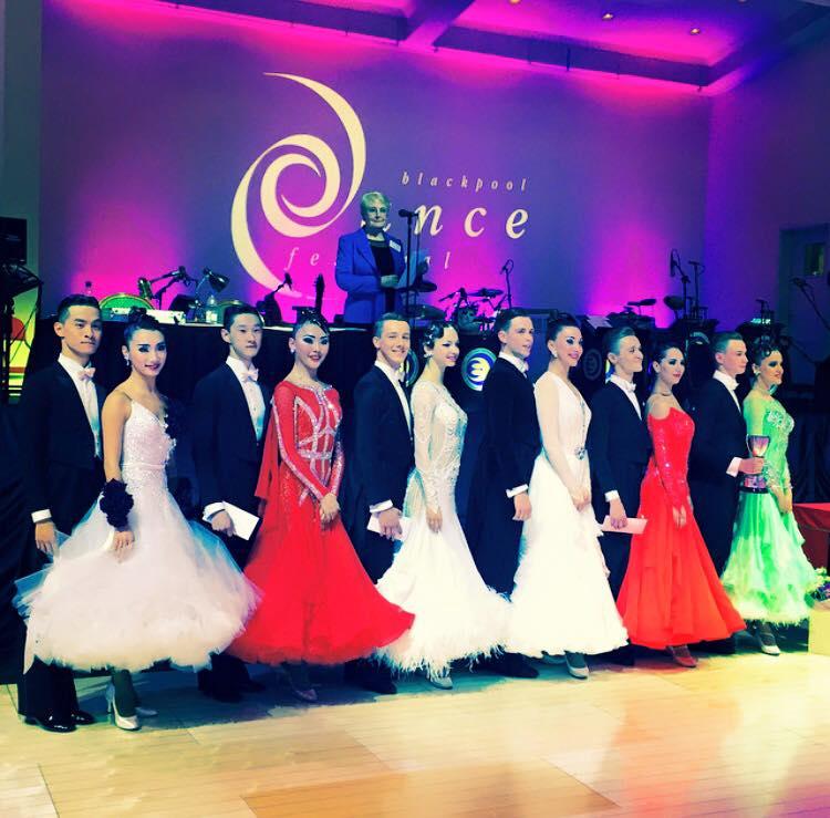 Финалисты категории Amateur Rising Star Ballroom