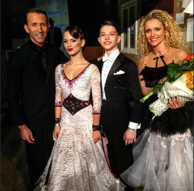With Mirko Gozzoli and Edita Daniute