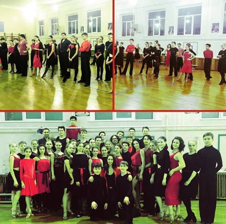 """Фото КСТ """"Шанс"""" и гости клуба на семинаре по латиноамериканской танцевальной программе"""