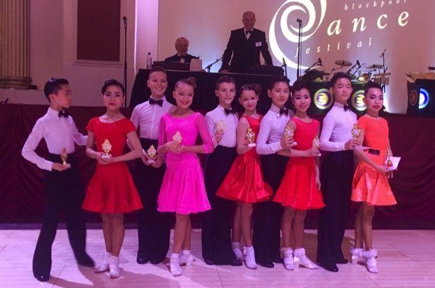 2016 Blackpool Junior Dance Festival – Juvenile Cha-cha-cha