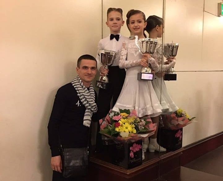 Champion 2016 WDC AL European Juvenile Latin - Arsenii Moroz Sofiya Yaroslavska
