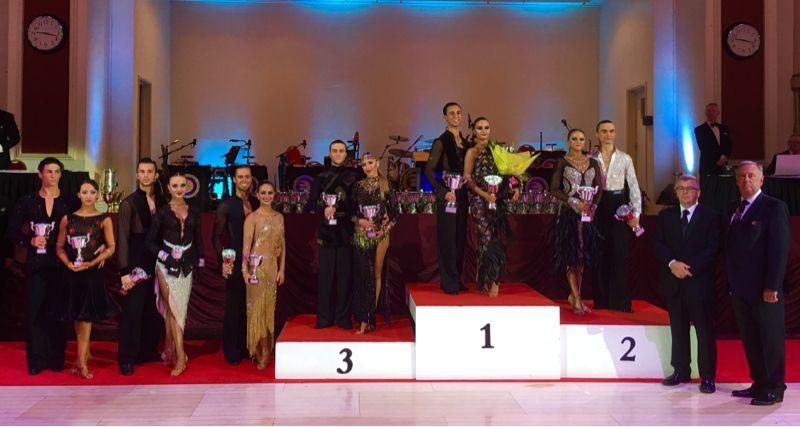 2016 WDC AL European Championship Youth II (U21) Latin