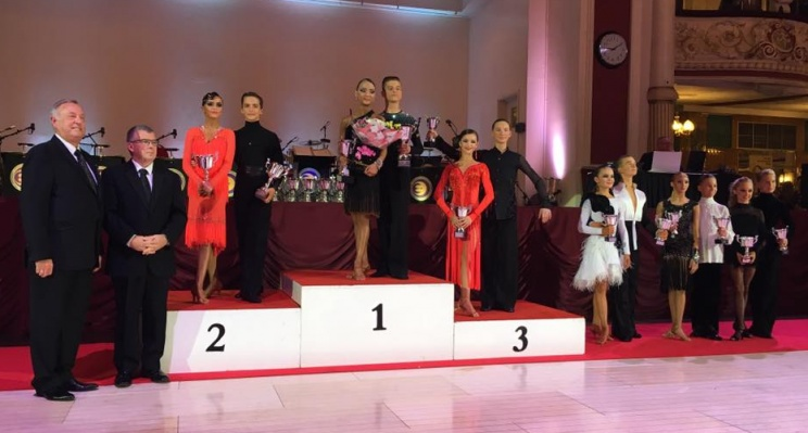 2016 WDC AL European Championship Junior I (U14) Latin