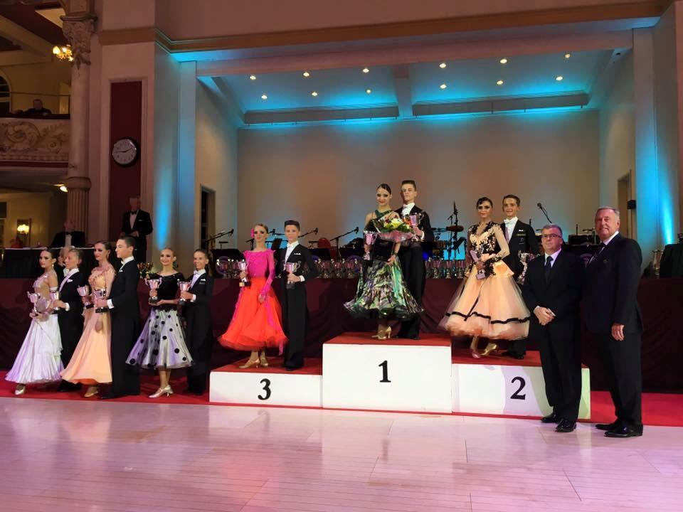 2016 WDC AL European Championship Junior I (U14) Standart