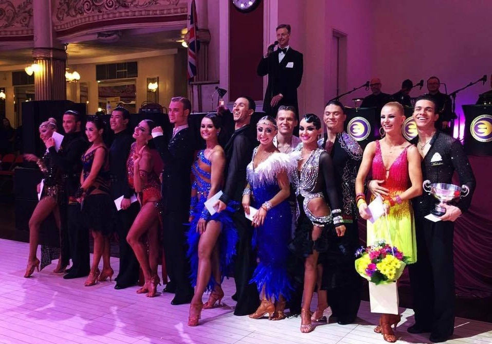 2016 Blackpool Dance Festival Youth U21 Latin