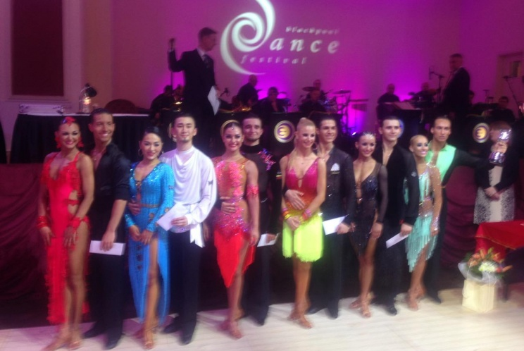 Blackpool Dance Festival 2016 Amateur Rising Star Latin
