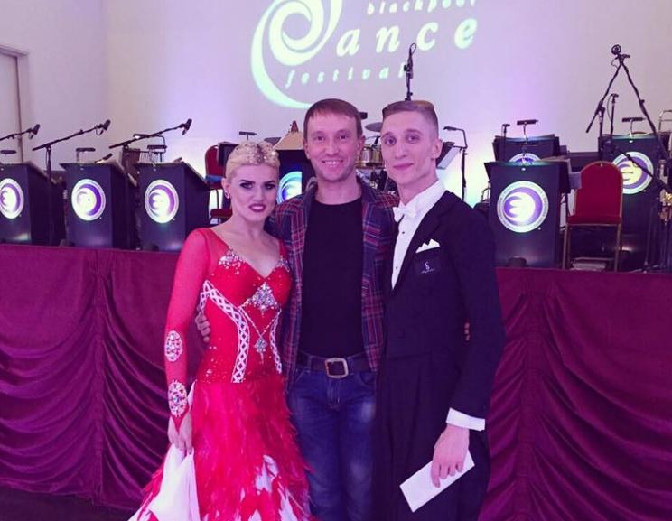 Blackpool Dance Festival 2016 - 3 place Marko Ilich & Yuliya Kovtunova (Ukraine) and coach Maksym Bulanyy