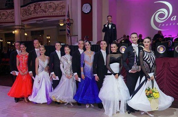 2016 Blackpool Dance Festival Youth Professional Rising Star Ballroom