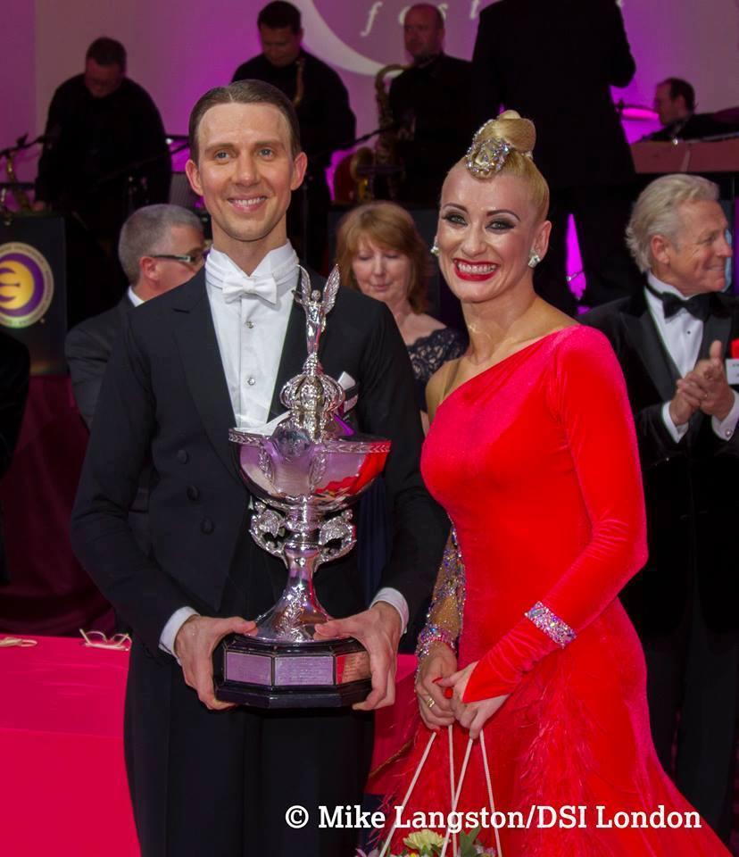 Professional Ballroom Winners Arunas Bizokas & Katusha Demidova USA