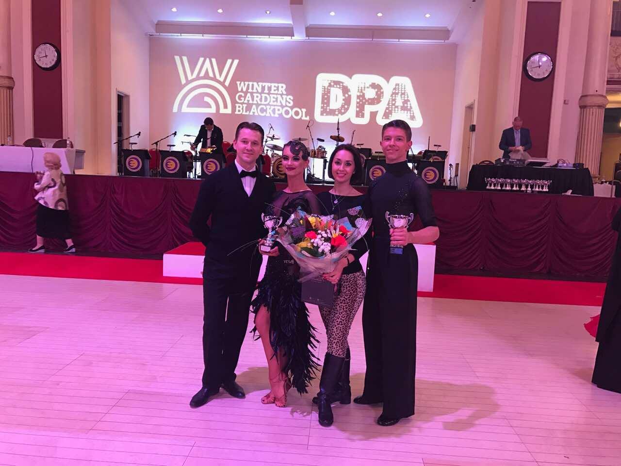 2017 WDC AL European Championship Youth1 | Roman Myrkin, Dariya Tsibulska, Natalia Byednyagina, Oleksiy Bonkovskyy