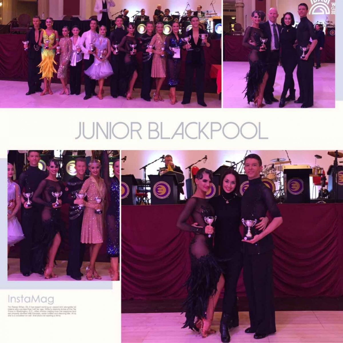 The Junior Blackpool Dance Festival 2017 British Junior Latin Championship