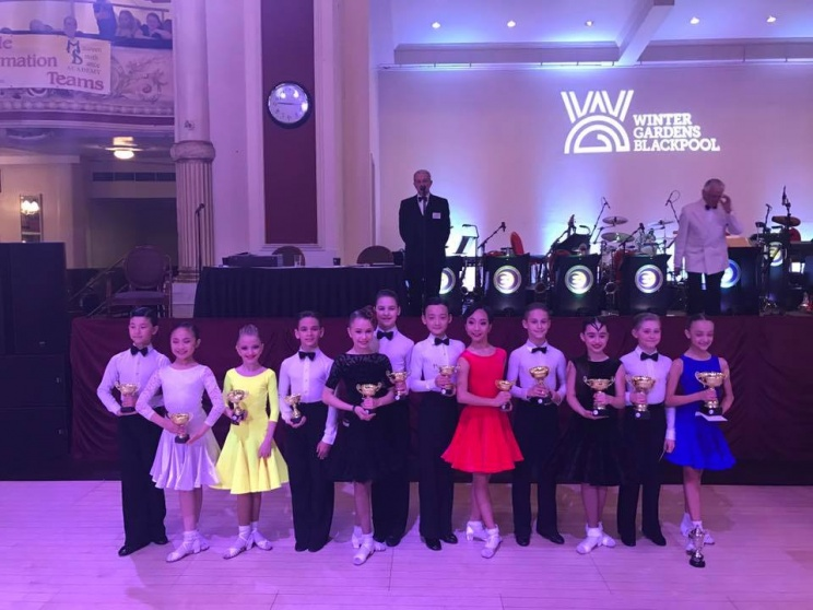 The Junior Blackpool Dance Festival 2017 British Juvenile Latin Championship