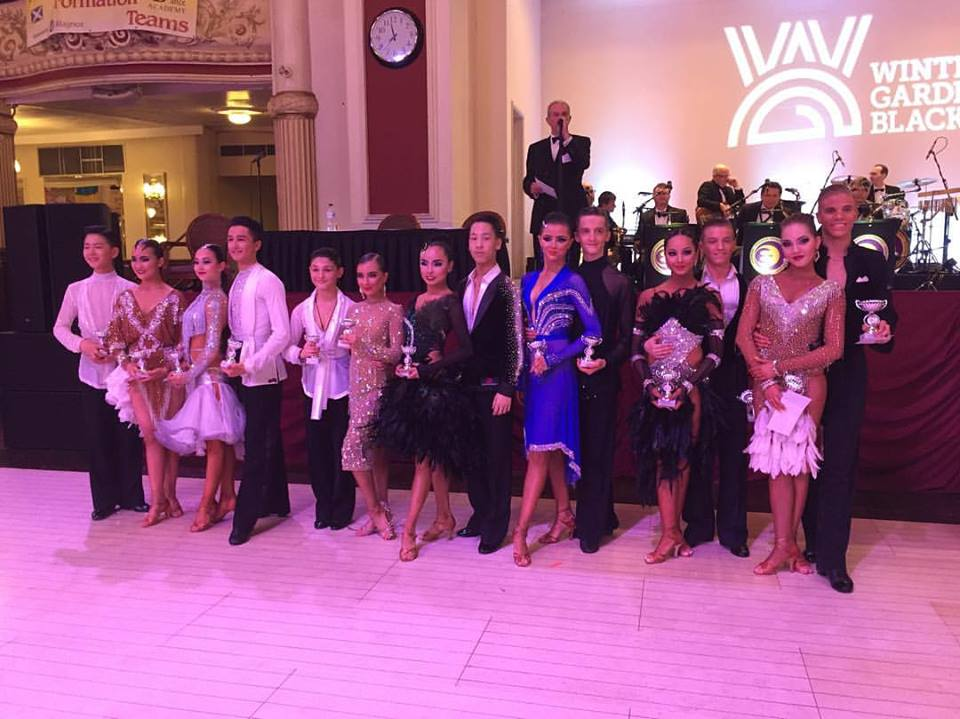 The Junior Blackpool Dance Festival 2017 Junior Samba