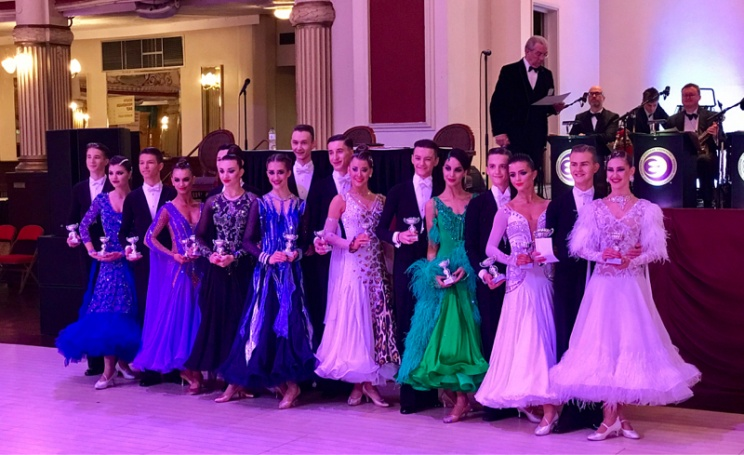 The Junior Blackpool Dance Festival 2017 Junior Viennese Waltz
