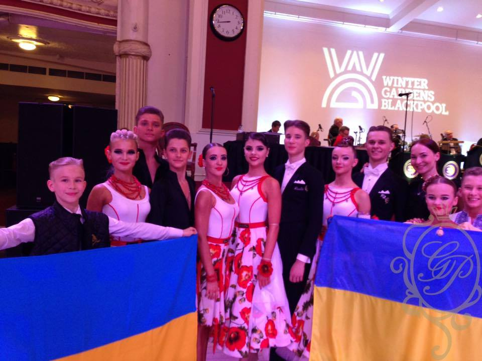 The Junior Blackpool Dance Festival 2017 Ukrainian Junior and Juvenile Team