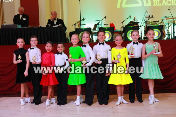 The Junior Blackpool Dance Festival 2017 Juvenile Jive