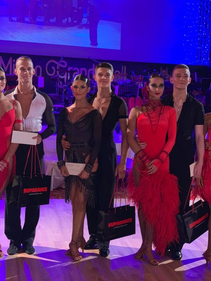 Milano Grand Ball 2019 U19 Latin Awards