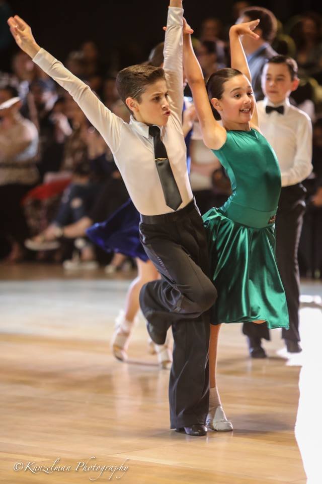Justin Lujan & Julia Zilman on the Emerald Ball Dancesport Championships 2017